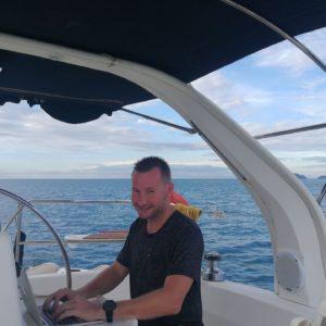 Travailler sur un bateau en Thaïlande